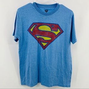 DC Comics Superman Blue Tee Shirt